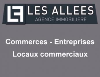 Achat commerce St Marcel les Sauzet • <span class='offer-area-number'>380</span> m² environ