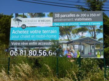 Achat terrain Montpellier • <span class='offer-area-number'>352</span> m² environ