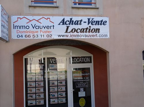 L ADRESSE - AGENCE IMMO VAUVERT - DOMINIQUE FUSTER