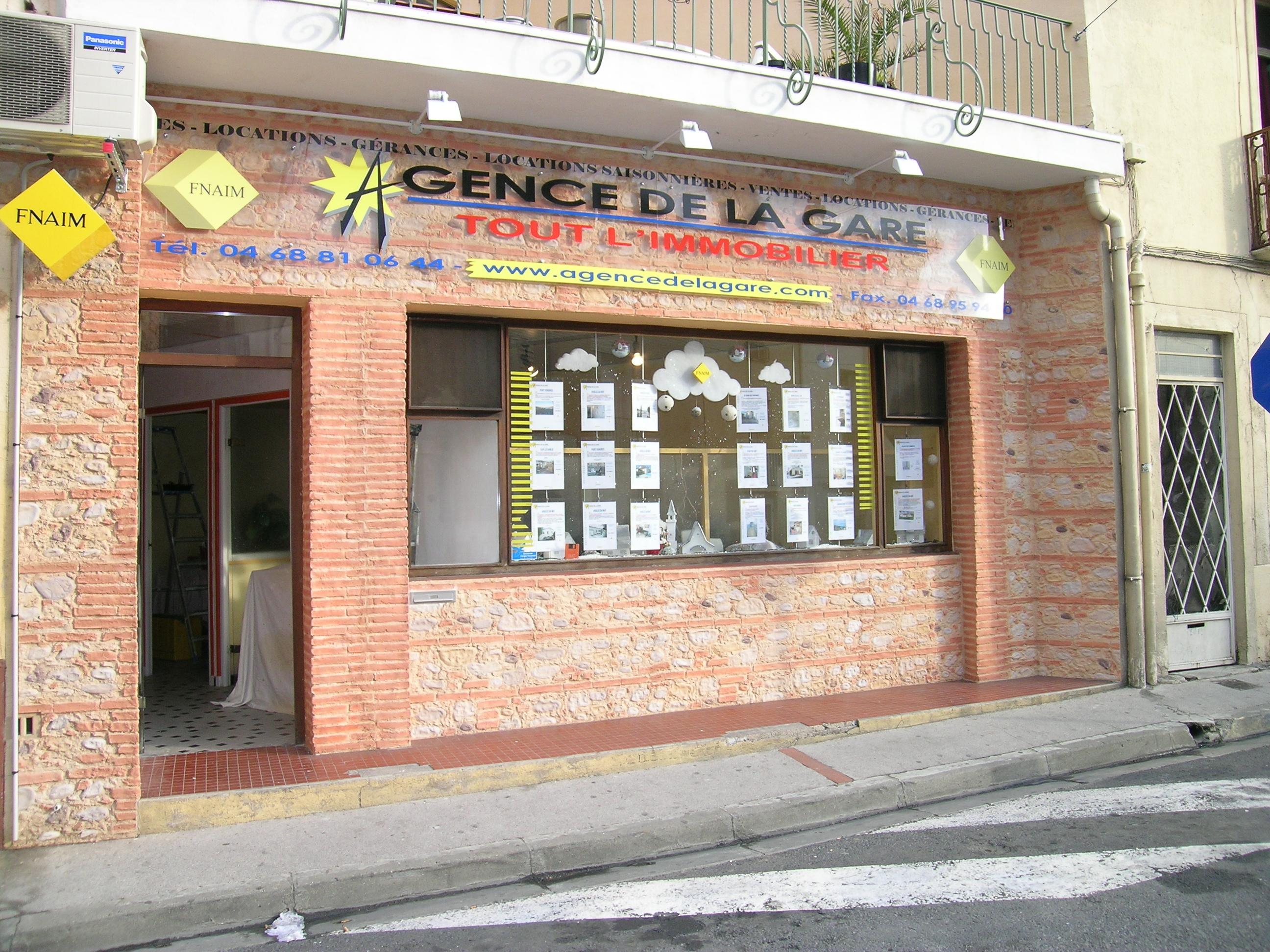 AGENCE DE LA GARE