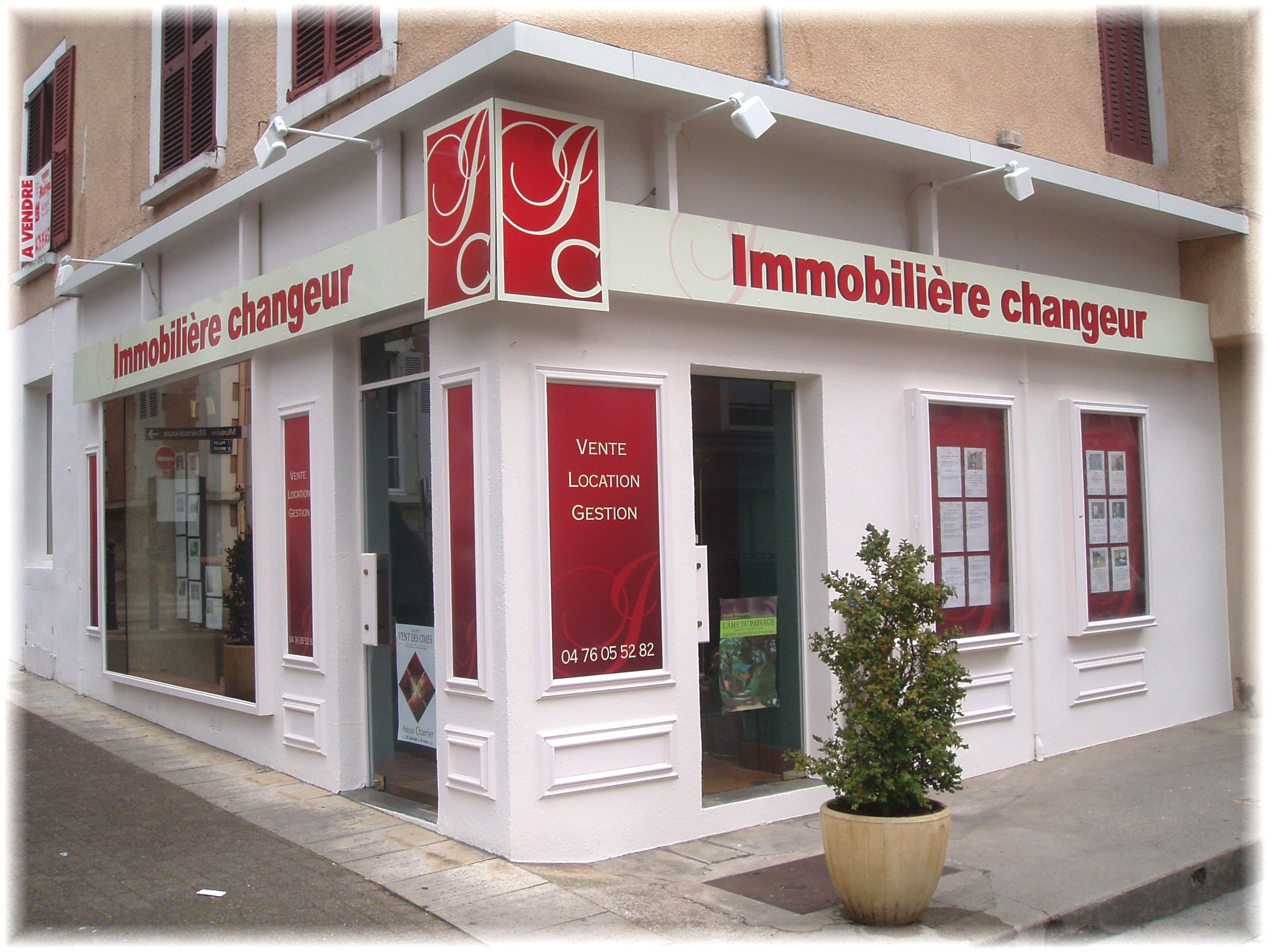 IMMOBILIERE CHANGEUR