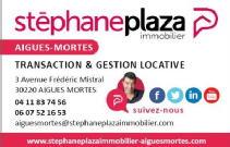 STEPHANE PLAZA IMMOBILIER AIGUES MORTES
